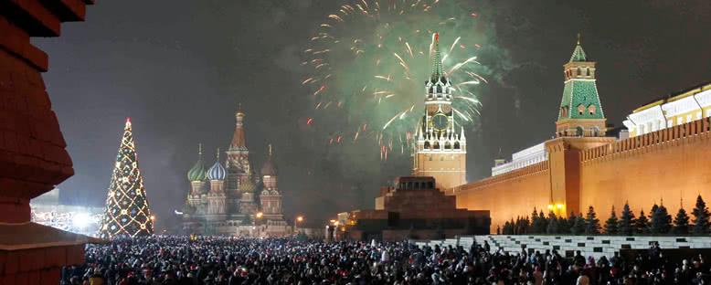 Unutulmaz yılbaşı eğlenceleri sizi vizesiz turlarla Moskova'ya çağırıyor!