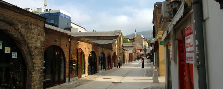 Sabah Saatlerinde Başçarşı - Saraybosna