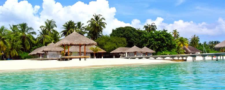 Sahilde Bungalovlar - Maldivler