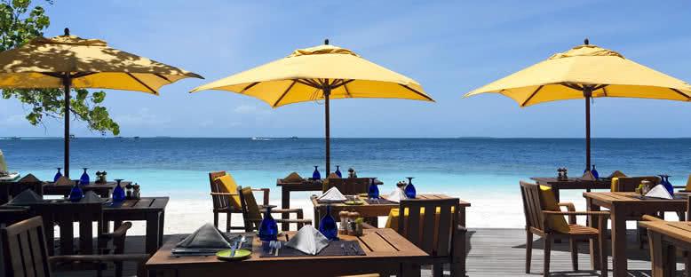 Sahilde Restoranlar - Maldivler