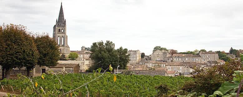 Saint Emilion Manzarası - Bordeaux