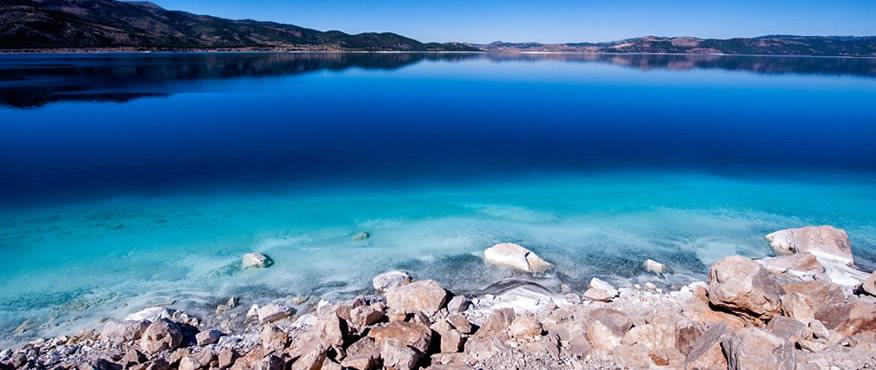 Salda Gölü Kıyıları - Burdur