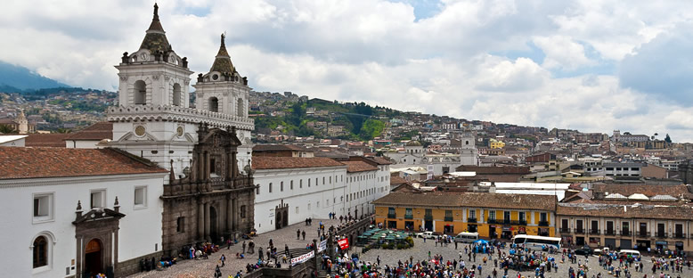San Francisco Bazilikası - Quito