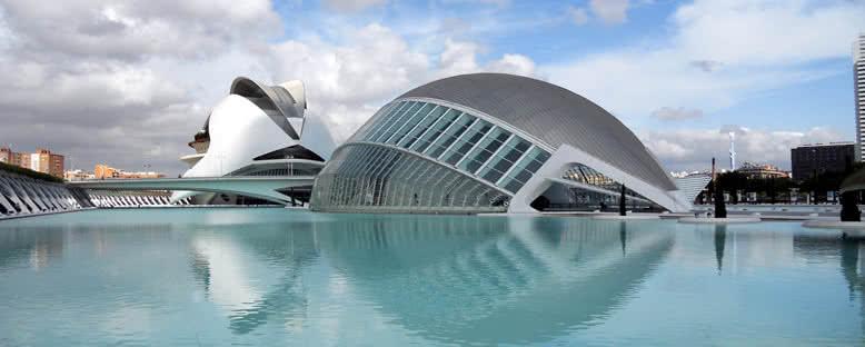 Sanat ve Bilim Şehri - Valencia