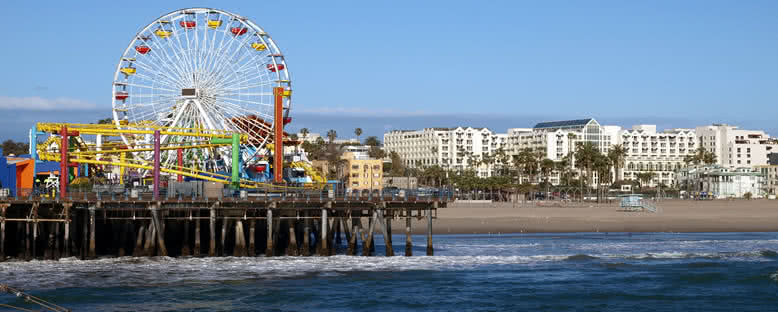 Santa Monica Plajı - Los Angeles