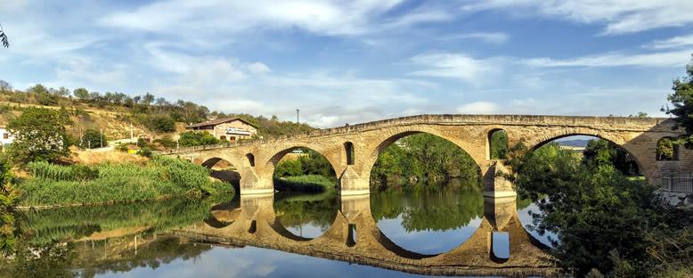 Puenta La Reina Köprüsü - Santiago de Compostela
