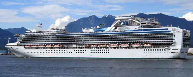 Sapphire Princess Cruise Gemisi