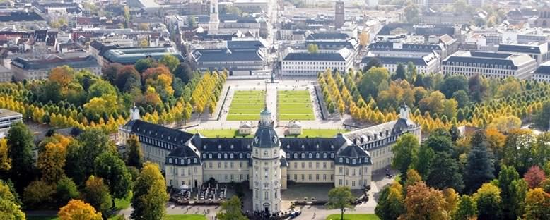 Saray ve Şehir - Karlsruhe