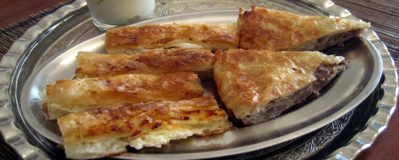 Boşnak Böreği - Saraybosna