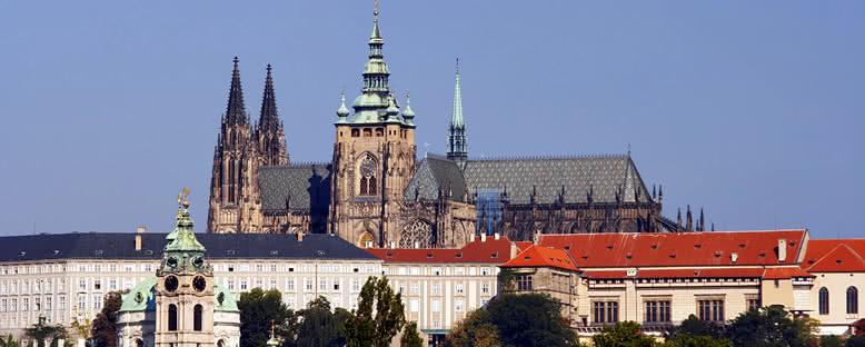 Şato Manzarası - Prag
