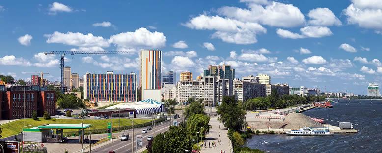 Şehir Görünümü - Dnipropetrovsk