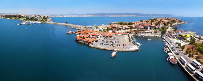 Şehir Görünümü - Nessebar