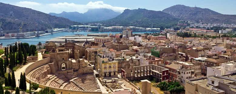 Şehir Manzarası - Cartagena
