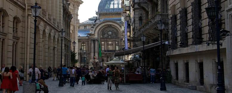 Şehir Sokakları - Bükreş