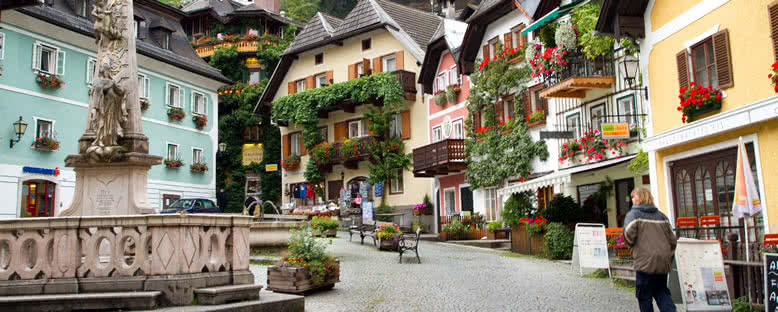 Şehir Sokakları - Hallstatt