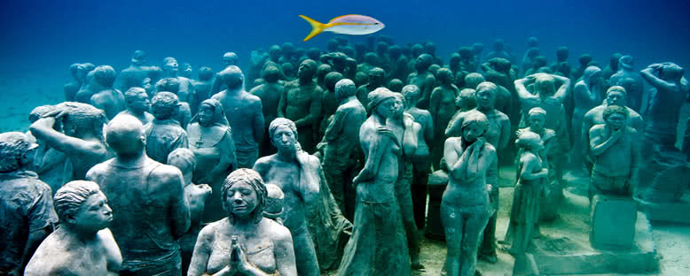 Sessiz Evrim Sualtı Müzesi - Cancun