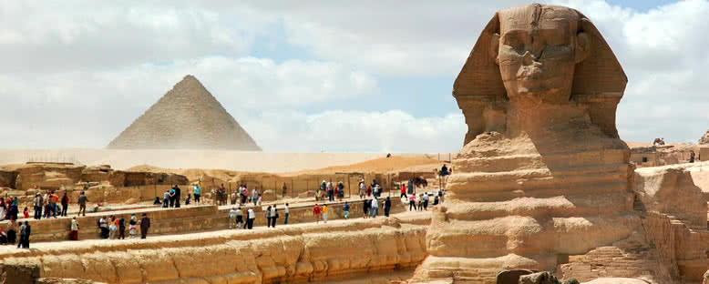 Sfenks ve Piramit - Kahire