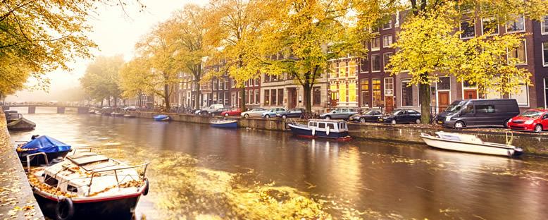 Sonbahar Manzarası - Amsterdam