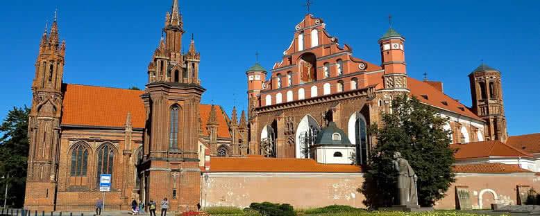 St. Anne Kilisesi - Vilnius