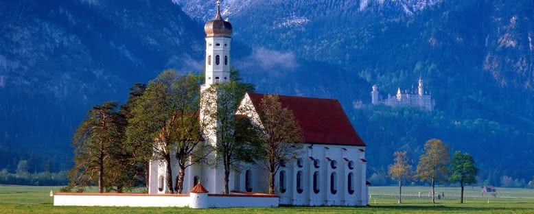 St Coloman Kilisesi - Füssen