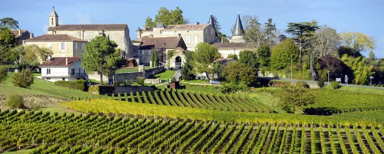 St. Emilion Bağları - Bordeaux