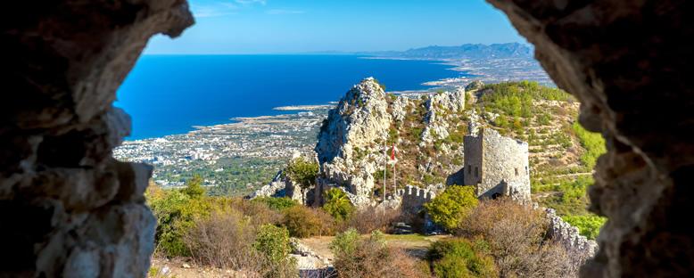 St. Hilarion Kalesi - Kıbrıs