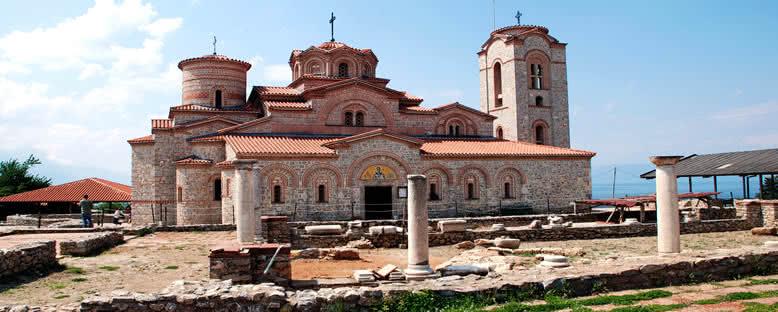 St. Panteleimon Kilisesi - Ohrid