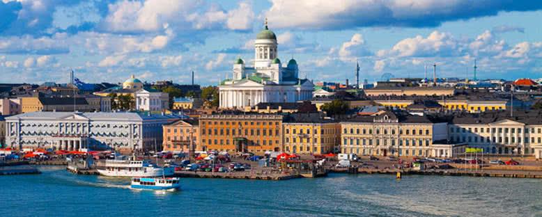 Şehir Panoraması - Helsinki