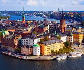 Stockholm iskandinavya