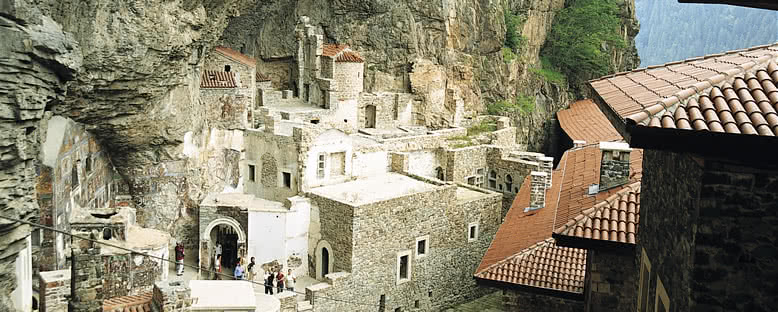 Sümela Manastırı İçi - Trabzon
