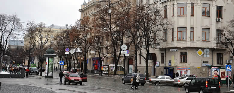 Sumskaya Caddesi - Kharkov