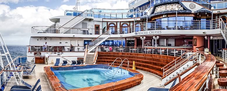 Sun Deck - Emerald Princess