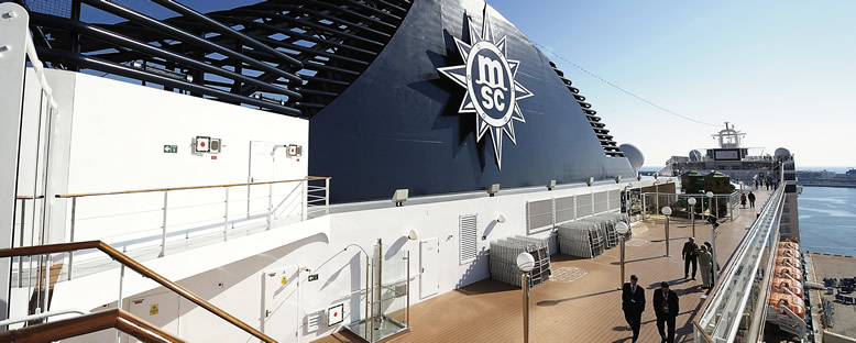 Sun Deck - MSC Orchestra