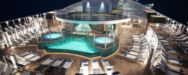 Sun Deck - MSC Seaside