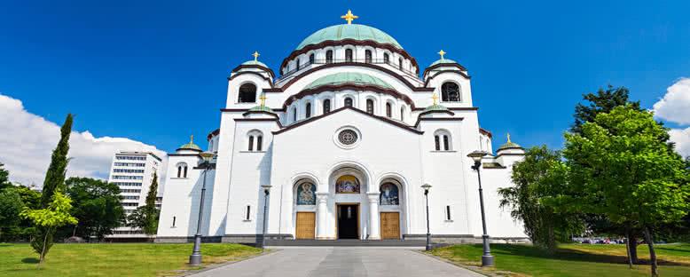Sveti Sava Katedrali - Belgrad