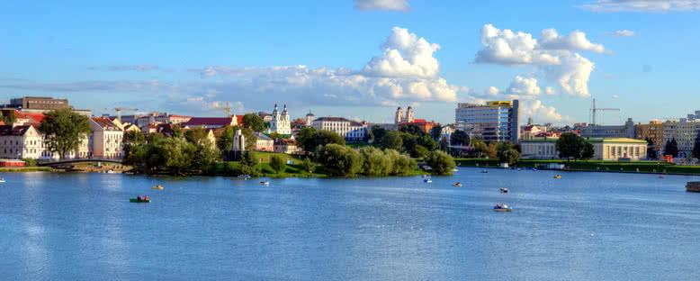 Svislach Nehri ve Şehir - Minsk