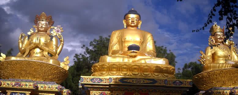 Swayambhunath Tapınağı Buddha'ları - Katmandu