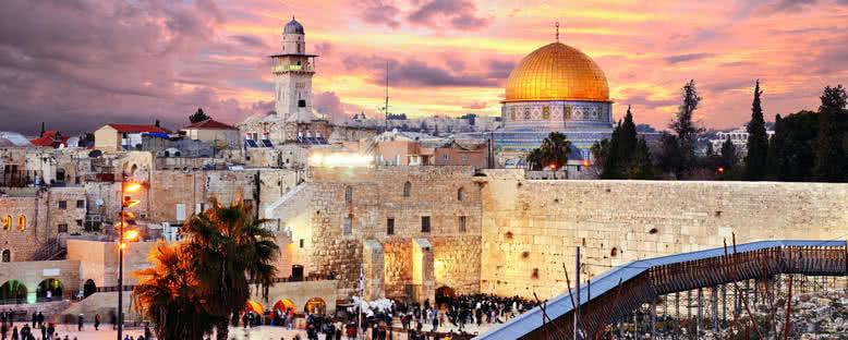 Tapınak Dağı ve Ağlama Duvarı - Kudüs