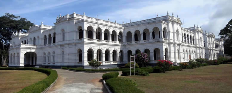 Tarçın Bahçeleri'ndeki Ulusal Müze - Colombo
