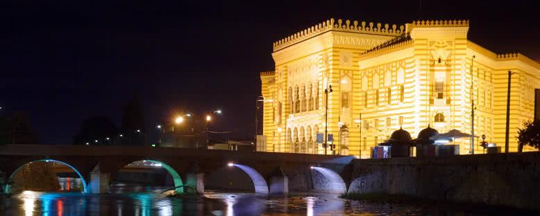 Tarihi Belediye Binası - Saraybosna