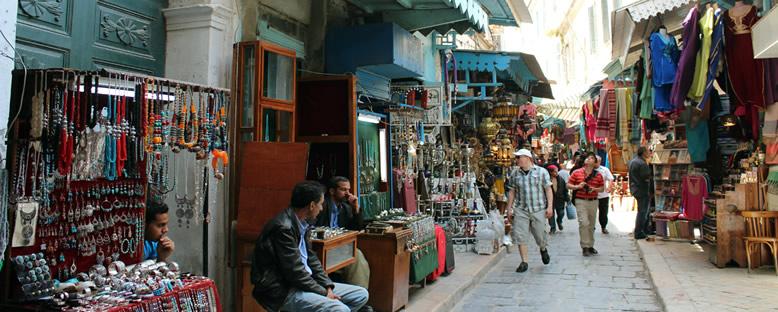 Tarihi Çarşı - Hammamet