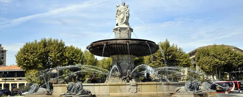 Tarihi Çeşme - Aix En Provence