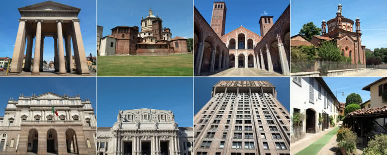Tarihi Eserler - Milano