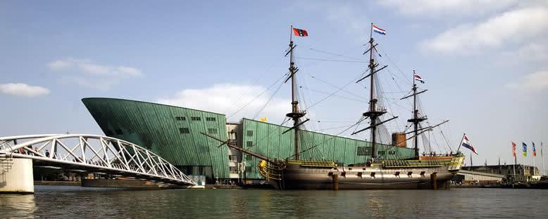 Tarihi Gemi ve NEMO Bilim Müzesi - Amsterdam