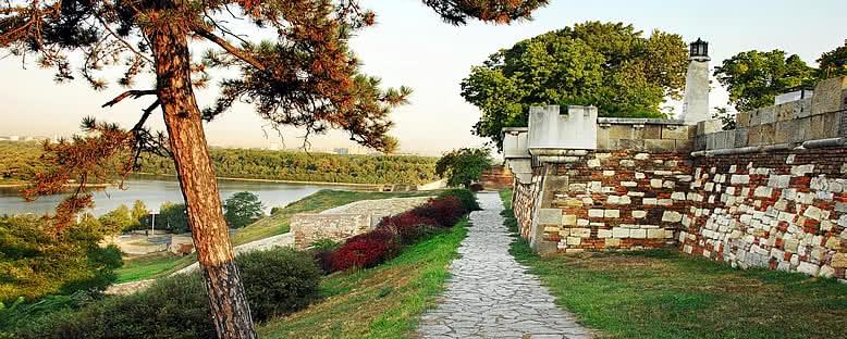 Tarihi Kale ve Park - Belgrad
