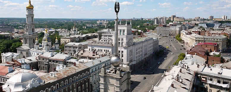 Tarihi Merkez - Kharkov