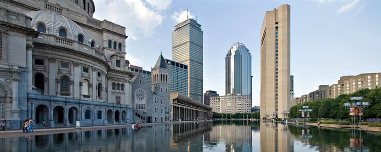 Tarihi ve Modern Binalar - Boston