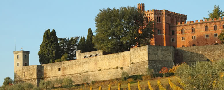 Tarihi Şatolar - Toskana