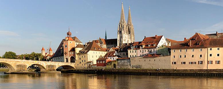 Tarihi Şehir - Regensburg