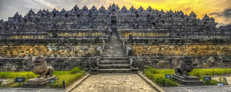 Tarihi Tapınaklar - Borubudur
